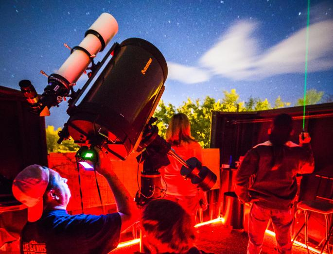 Astrophotography Tour at Spencer's Observatory by Sean Parker.